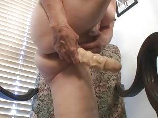 Dildo Granny Tube