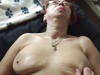 Mature manchester wife lubes up liquid silk 3