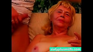 Granny enjoys her young fuck..
