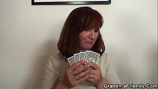 Pussy hairy granny sucking..