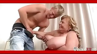 SSBBW Granny With Huge Boobs..