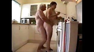 Old grand parents having fun..