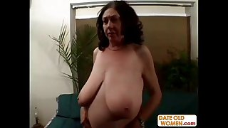 BBW granny gets it rough on..