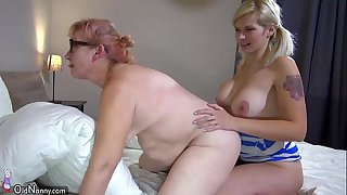 OldNanny Two horny lesbian..