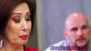 mature asian chick fucked by..