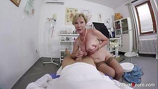 big boob hairy grandma..