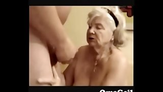 89 years old granny suck dick