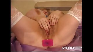 Old Busty Dirty Milf Plugs..