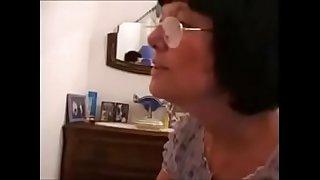 sexy Hairy Grandma anal