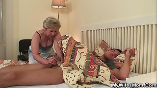 Forbidden mother in law fuck