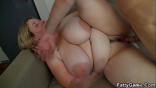 He fucks big tits blonde..