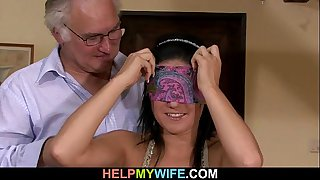 Sultry wife rides stranger's..