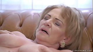 Kinky granny Sally G needs..