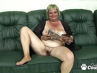 Flabby Old Granny Drains A..