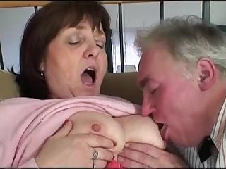 Granny and Grandpa in action