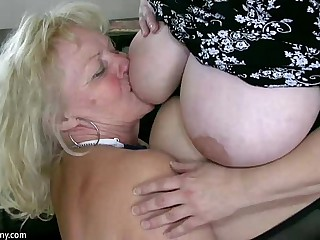 OldNanny Sexy chubby mature..