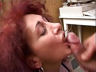 ANAL orgasm for my MOM with..