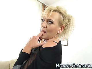 Tongued granny facial