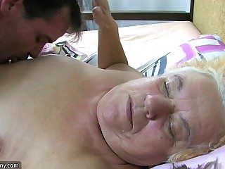 Granny and sexy Nurse is..