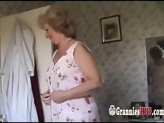 Amateur Granny Blonde And..