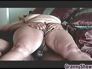 Big Granny On Riding Some..