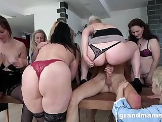 Biggest Granny Fuck Fest..