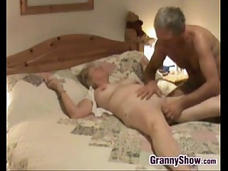Granny Gets Her Pussy..