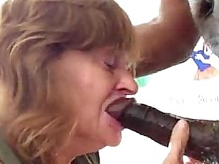 Granny Gets Her Throat..