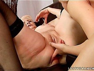 Granny Marianne gets fucked..