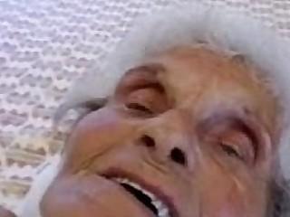 Very old granny still loves..