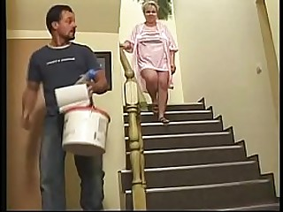 Granny forced to fuck