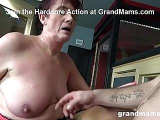 Grandma Wants Some Tittie Fuck