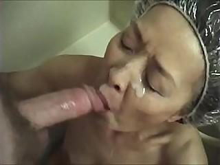 Japanese granny loves..