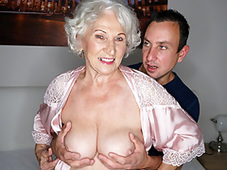 Granny cheating on her hubby..
