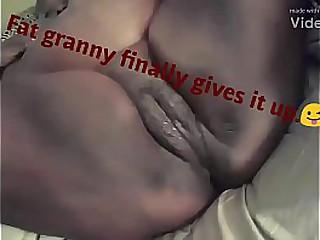 Bbw grandma gives it to me