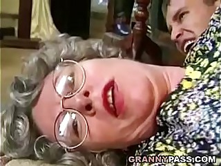 German Granny Can't..