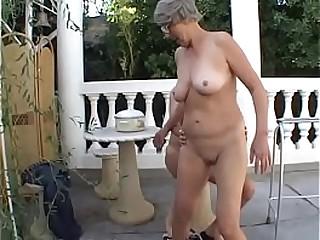 Slutty granny Margo loves..