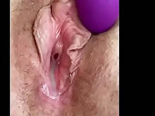 Granny loves to toy her..