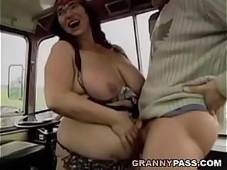 BBW Granny Gets Fucked On..