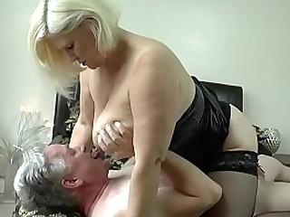 LACEYSTARR - Busty Granny..