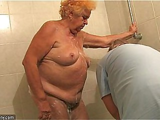OldNanny Old Chubby lady..