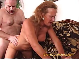 Horny Granny Loves to Bring..