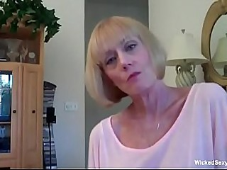 Shameless Granny Sucking Cock