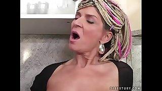 50 yo slut Janice vs young..